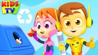 Download Yes Yes Save The Earth | Recycling Song | Nursery Rhymes & Kids Songs Video