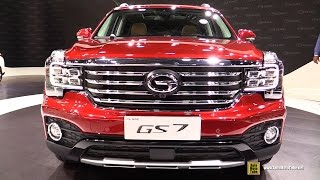 Download 2018 GAC GS7 320T i4WD - Exterior and Interior Walkaround - Debut at 2017 Detroit Auto Show Video