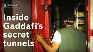 Download Inside Gaddafi's secret tunnels   Channel 4 News Video