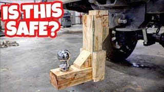 Download IS A WOOD TRUCK HITCH SAFE TO USE? Video
