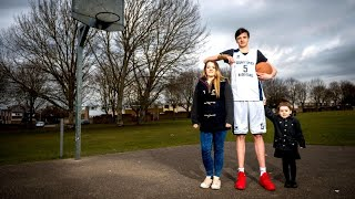 Download World's Tallest Teen Is Over 7 Feet Tall and Eats 8,000 Calories a Day Video