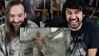 Download RAMPAGE - OFFICIAL TRAILER 1 REACTION & REVIEW!!! Video
