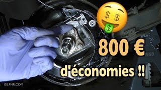 Download ✅ Economiser 800€ 🤑 en changeant soi-même Freins Arrière à Tambour + Roulements ! Video