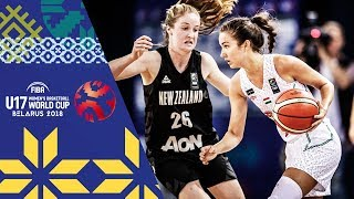 Download LIVE 🔴- Hungary v New Zealand - FIBA U17 Women's Basketball World Cup 2018 Video
