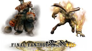 Download Final Fantasy Type-0: All types of Eidolons Summons Video