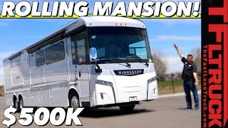 Download This RV Has a Freakin' Fire Place! Meet the Most Luxurious and Most Expensive Winnebago Video