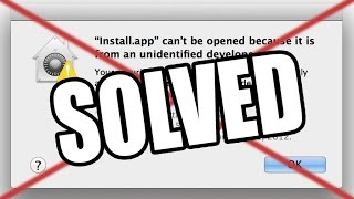 Download OPEN UNIDENTIFIED DEVELOPER APPS WITHOUT ADMIN PASSWORD ON MAC! WORKS! Video