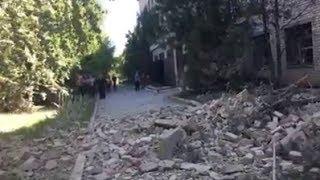 Download Окупанти вгатили по Красногорівці з ″Градів″ та танків: наслідки атаки Video