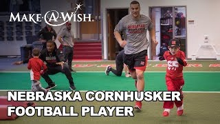 Download Jack's wish to be a REAL Nebraska Cornhusker Football Player | Make-A-Wish Nebraska Video