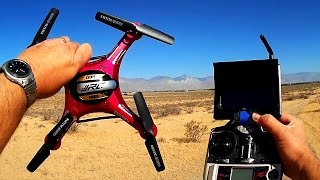 Download JJRC H8D 5.8Ghz FPV Drone Review Video