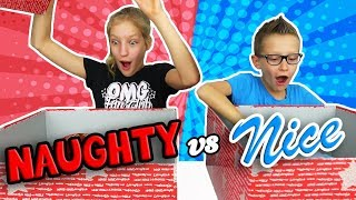 Download NAUGHTY vs. NICE Christmas Present Challenge!!! Video