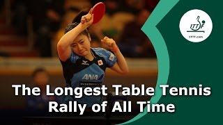Download The Longest Table Tennis Rally of All Time Video