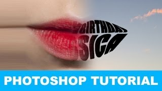 Download How to Warp Text into a Shape In Photoshop TUTORIAL Video