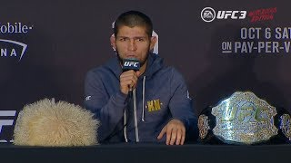 Download UFC 229: Post-fight Press Conference Video