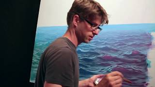 Download How To Paint Waves - Lesson 3 - Wet On Dry Video