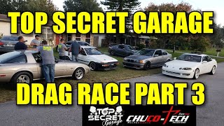 Download TOP SECRET GARAGE DRAG RACE PART 3 Video