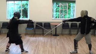 Download Sparring and competition with Schola Gladiatoria historical fencing Video