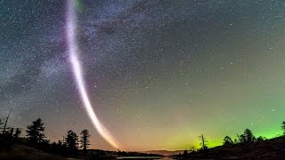 Download Meet Steve: Scientists, Aurora enthusiasts find a new mysterious light in the night sky. Video