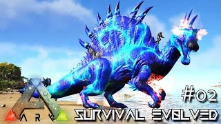 Download ARK: SURVIVAL EVOLVED - NEW SPINO XENON & WYVERN TAMING !!! E02 (MODDED ARK MYSTIC ACADEMY) Video