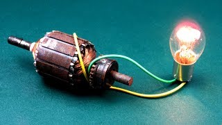 Download Electrical Engineering Free energy Device, 220 Volts Light Bulbs Handmade Generator for 2019 Video