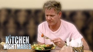 Download Dry, Frozen, Bland Food Leaves Gordon Ramsay Very Unhappy | Kitchen Nightmares Video