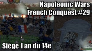 Download Napoleonic Wars - French Conquest #29 (Siege) Video