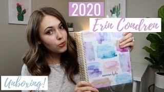 Download 2020 ERIN CONDREN LIFE PLANNER UNBOXING & REVIEW Video