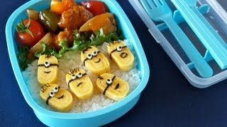Download Minions Bento Lunch Box ミニオンズ弁当 - OCHIKERON - CREATE EAT HAPPY Video