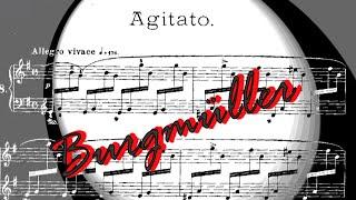 Download Friedrich Burgmüller - Agitato op. 109 n. 8 Video