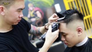 Download Kiểu tóc nam mohawk dành cho bạn có khuôn mặt tròn to béo Video