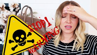 Download They DESTROYED my HERMÈS BIRKIN!☠️Don't let THIS happen to YOU‼️ Video