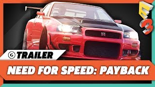 Download Need For Speed: Payback Gameplay Trailer - E3 2017: EA Play Press Conference Video