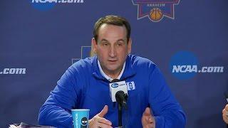 Download Coach K Chides ESPN Reporter Video