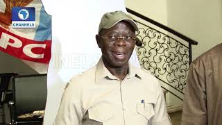 Download How Gov Amosun Tried To Impose 'Consensus' Candidates In Ogun- Oshiomhole Video