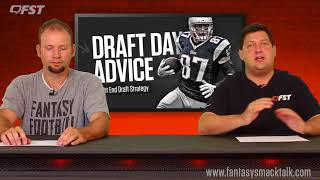 Download 2018 Fantasy Football Tight End TE Draft Strategy Video