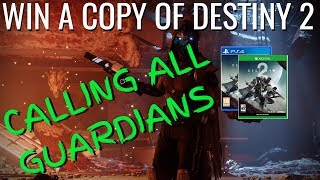 Download WIN A COPY OF DESTINY 2 ON PS4 OR XBOX ONE - WINNERS CHOICE - DESTINY 2 GIVEAWAY Video