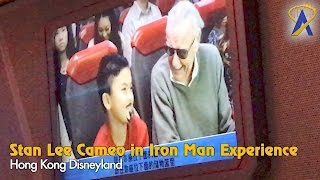 Download Stan Lee Cameo in Iron Man Experience at Hong Kong Disneyland Video