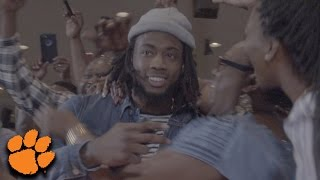 Download Mike Williams Reaction at NFL Draft Party as #7 Pick To LA Chargers Video