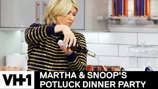 Download Martha Stewart Pours One Out For Julia Child 'Sneak Peek' | Martha & Snoop's Potluck Dinner Party Video