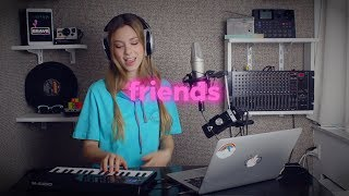 Download FRIENDS - Marshmello & Anne-Marie | Romy Wave cover Video