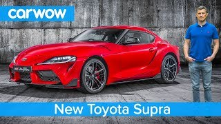 Download New Toyota Supra 2020 - EXCLUSIVE footage & everything you need to know! Video