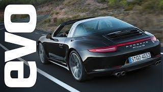 Download Porsche 911 Targa 4S review with Tiff Needell | evo REVIEWS Video
