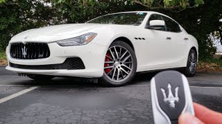 Download 2016 Maserati Ghibli S Q4: Start Up, Exhaust, Test Drive and Review Video