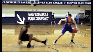 Download Ankle Breakers & Trash Talking!! Team Wall vs Team Felton Video