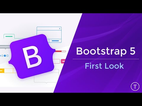 Bootstrap 5 - First Look