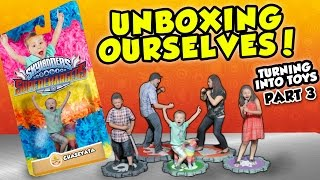 Download UNBOXING OURSELVES!! Our Toys Are Here! (Turning Into Skylanders Toys Part 3 #3D Printing Adventure) Video