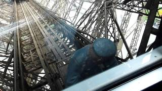 Download Eiffel Tower Elevator Ride Video