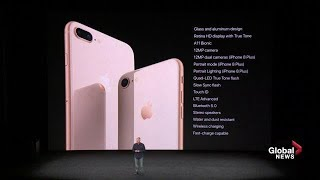 Download Apple iPhone 8 and 8Plus introduced with new features Video