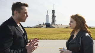 Download Elon Musk on how Falcon Heavy will change space travel Video