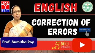 Download GURUKULAM || English - Correction of Errors || LIVE INTERACTIVE SESSION With Sumitha Roy Video